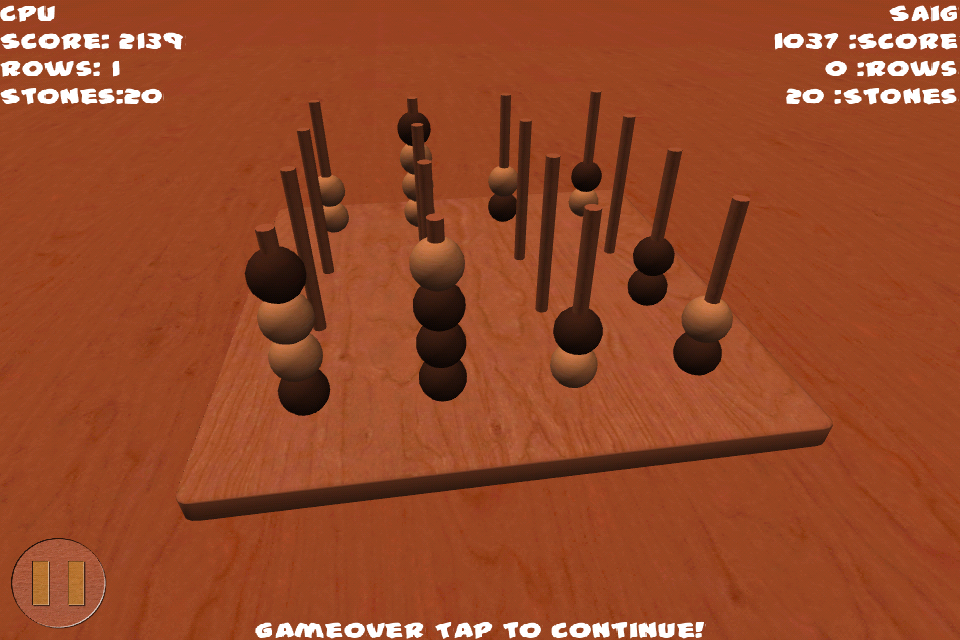 Screenshot Connect Four 3D