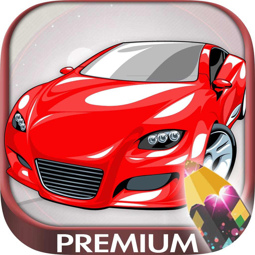 Pintar coches mágico - libro para colorear autos y carros - Premium ...